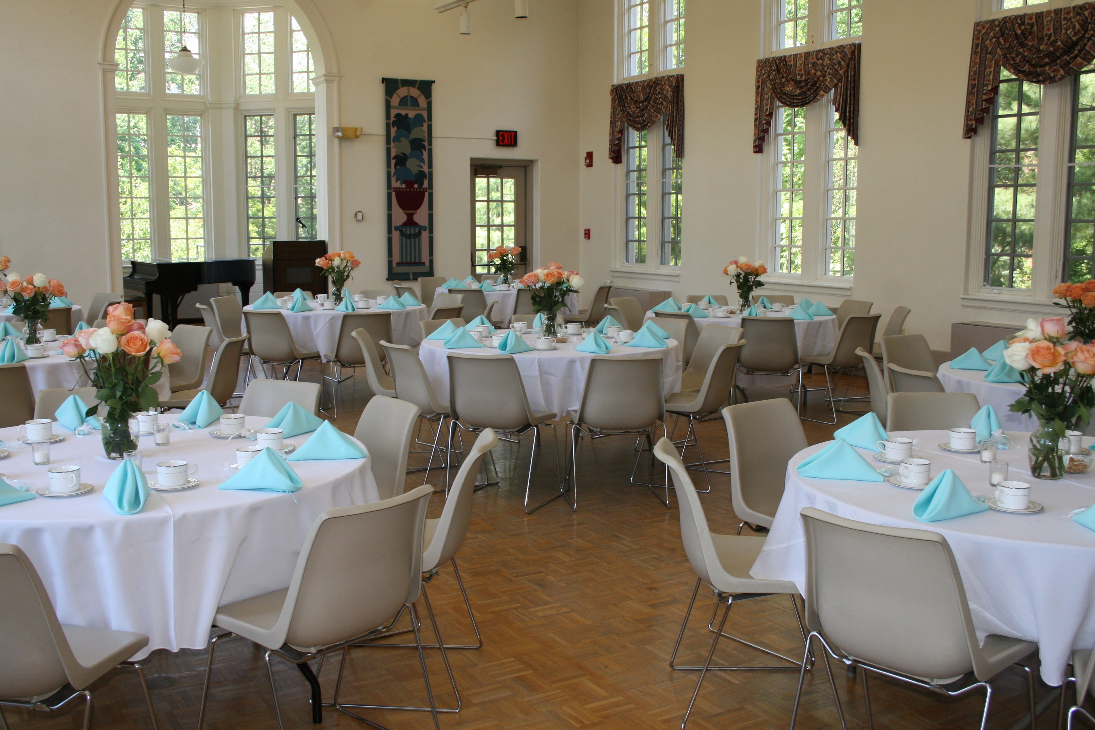 Campus and community events rehearsal dinner and reception saint marys college has many unique spaces that can accommodate many different types of events for your wedding including your rehearsal dinner junglespirit Gallery